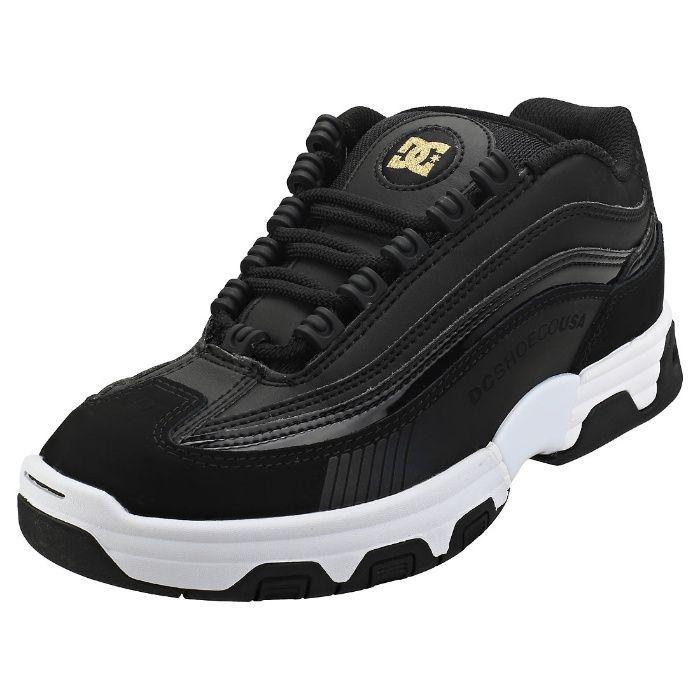 Кожаные кроссовки DC shoes р. 42-43 ст. 27,8 Legacy