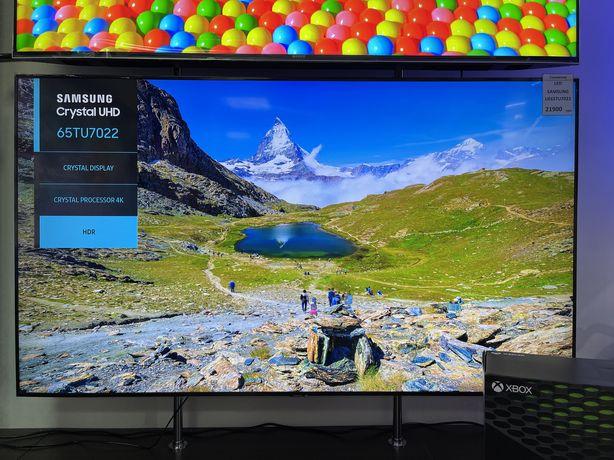 Телевизор Samsung 65tu7022 в наличии в магазине ,гарантия 1 год