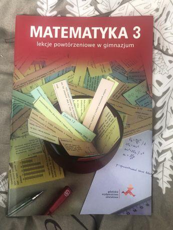 Matematyka 3 lekcje powtórzeniowe w gimnazjum