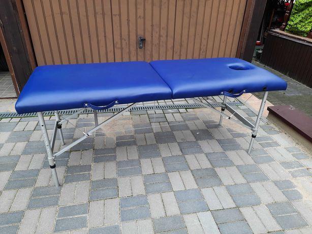 Stół do masażu niebieski
