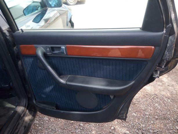 Audi 100 C4 Avant Kombi - Fotele przód tył boczki Welur  kpl.