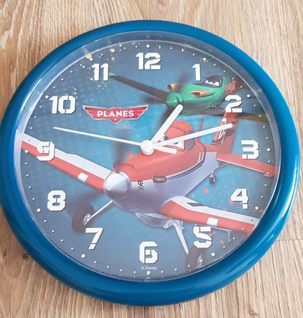 Zegar samoloty (25,5cm)