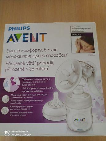 Ручной молокоотсос Philips Avent Natural (SCF330/20)