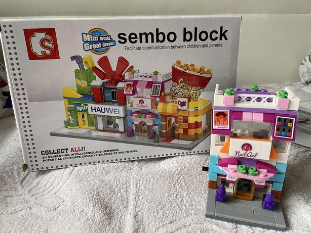 Скидка! Конструктор аналог лего lego sluban домик
