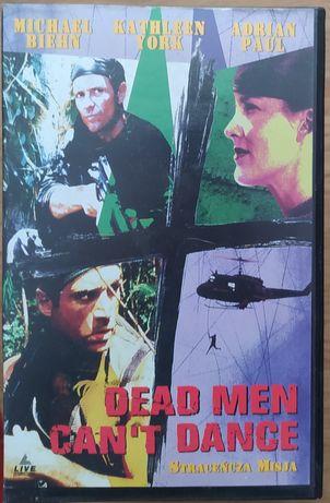 Kaseta VHS!!! STRACEŃCZA MISJA !!! Dead man can,t dance