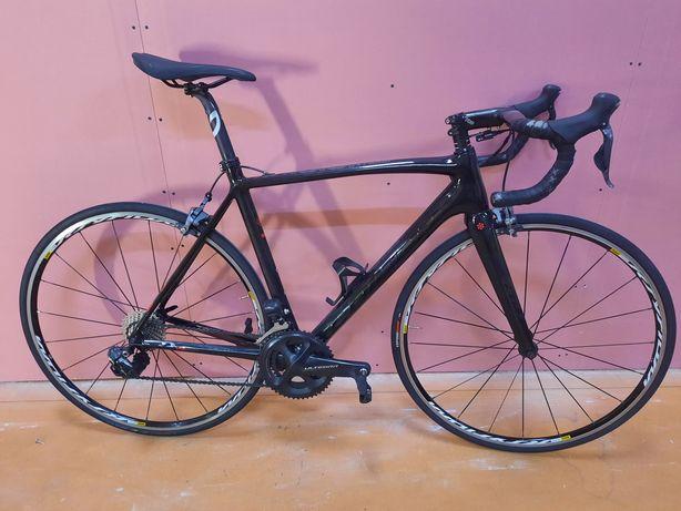 Bicicleta de carbono ultegra eletrico