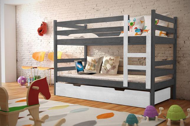 Łóżko Nela 2 os piętrowe! Wymiary 160x80, 185x80, 200x90
