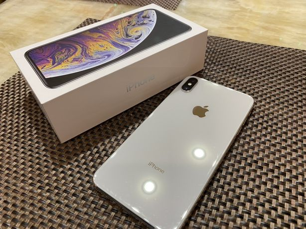 Продам Iphone айфон XS Max silver серебро 64 GB