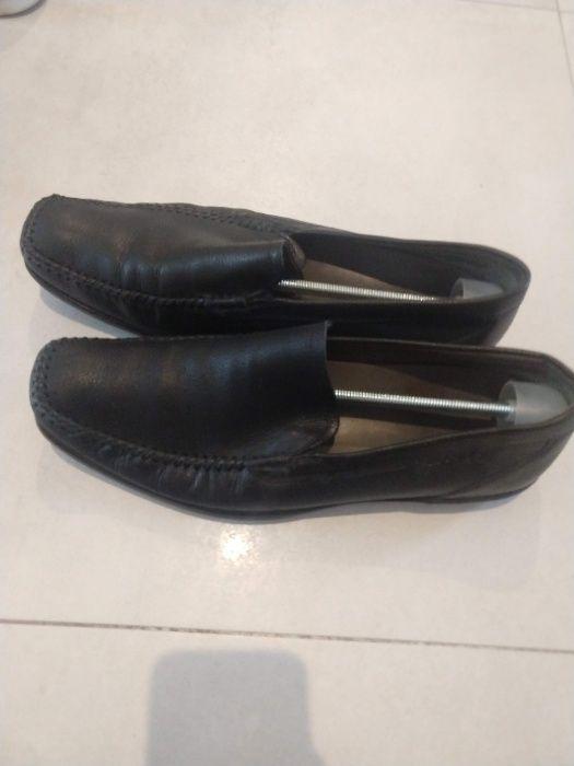 Buty ecco rozmiar 47 eleganckie czarne Warszawa - image 1