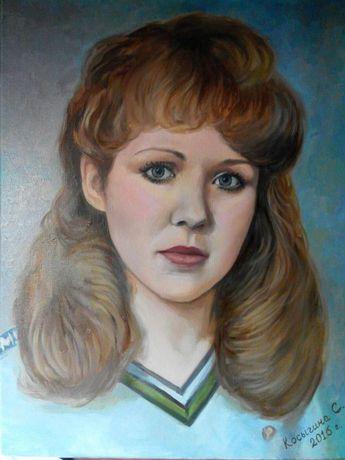 Художник напишет портрет на заказ