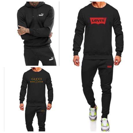 Dresy męskie z logo Levis Gucci Nike Adidas i inne M-XXL!!!