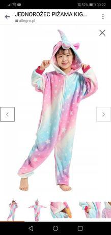 Piżama jednorożec kigurumi 120