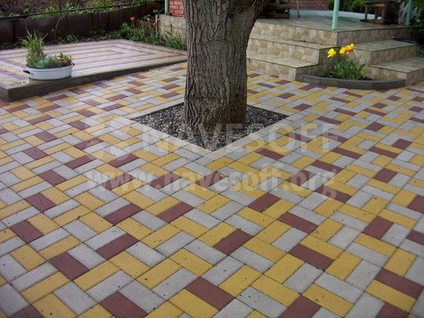 Тротуарная плитка, поребрик ,отсев,цемент