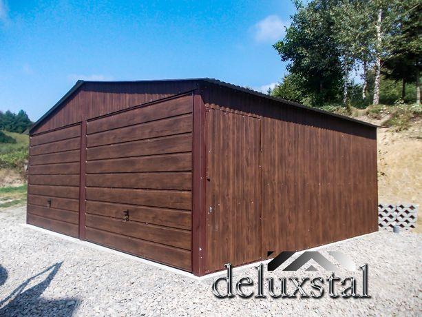 Garaże Blaszane garaż blaszak przecena 6x5 okazja 5x5 5x6 6x6 okazja