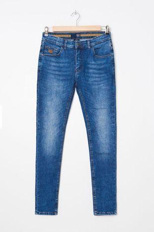 Spodnie jeansy skinny W 29 L 32 House nowe