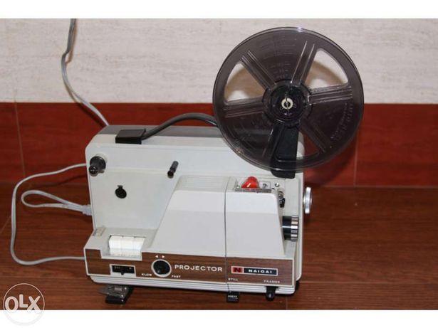 Projector de cinema - filmes super 8