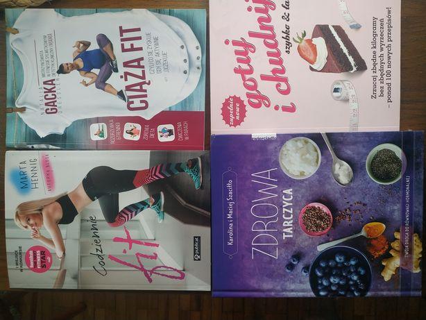 Książki, ciąża FIT, tarczyca, gotuj i chudnij