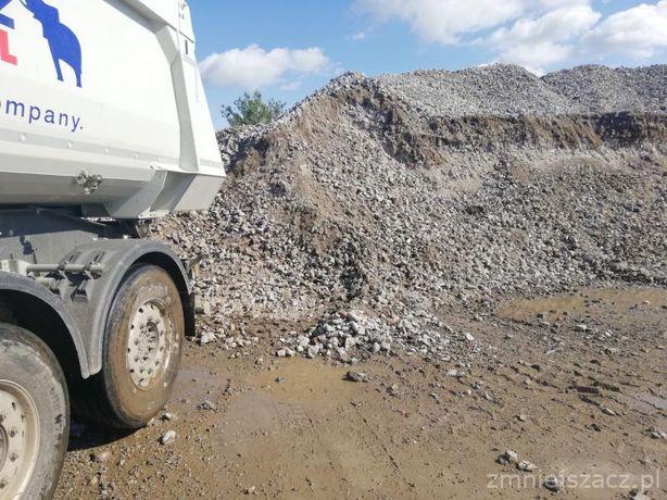 DESTRUKT-Gruz betonowy 30 zł/tona kruszywa piasek kruszony beton