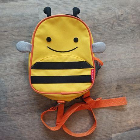Plecaczek dla dziecka skip hop ze smyczka stan bdb