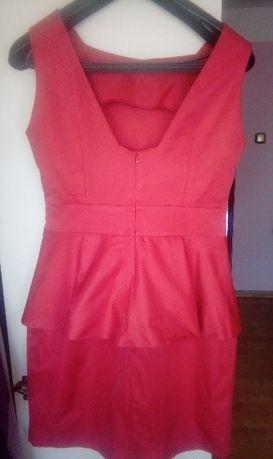 Sukienka z baskinka r 42.
