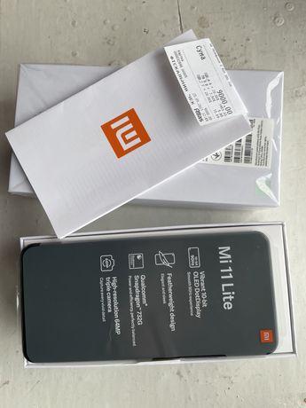 Телефон Xiaomi Mi 11 lite 6/128gb black
