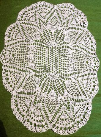 Serwety szydełkowe ręcznie robione szydełkowane bieżnik obrus