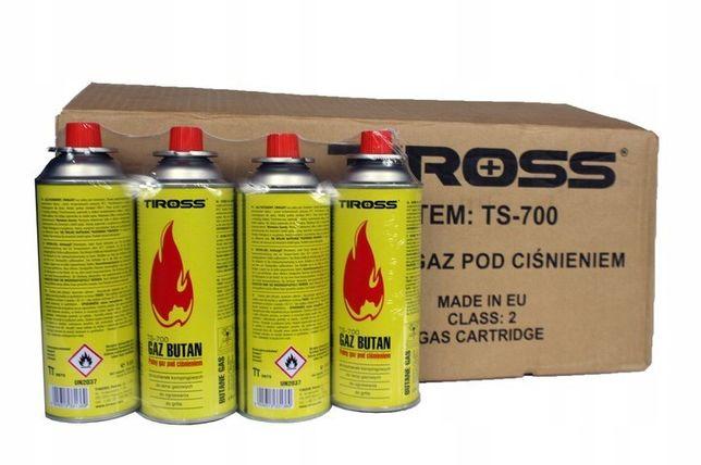 GAZ KARTUSZ 56 SZT 2 KARTONY German camping niemiecki gas super jakość
