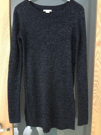 Tunika ciążowa / sukienka H&M MAMA czarna S (36)