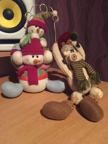 Новогодние мягкие игрушки сувенир