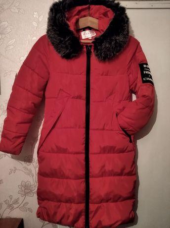 Зимняя курточка в хорошем состоянии