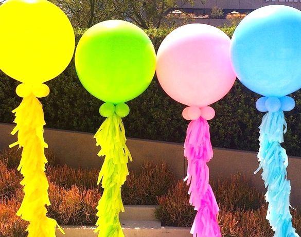 Огромные шары гиганты 80 см (фотозона, шарики, кульки декор)