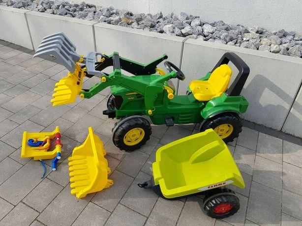 педальный Детский трактор John Deere , rolly toys