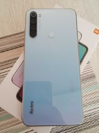 Xiaomi redmi note 8, 4/64, белый, идеал