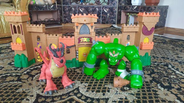 Замок, дракон, орк и др.
