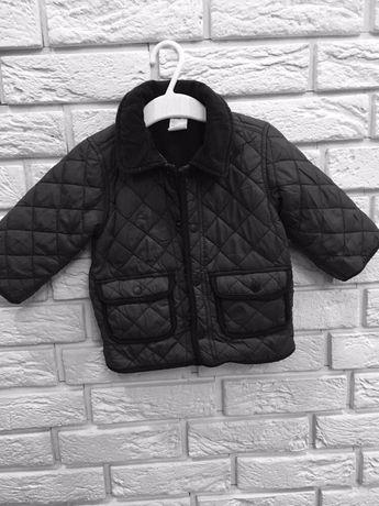 Курточка стёганая H&M 4-6 м.(будет дольше)