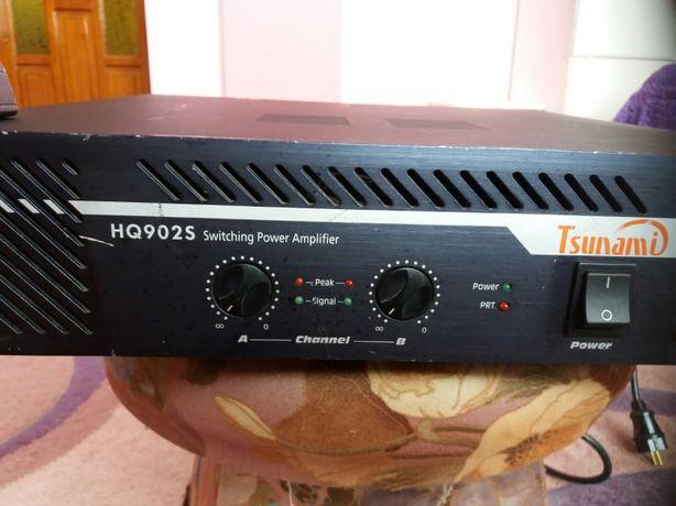Обмін.Професійний підсилювач Tsunami HQ902S 2x450вт 4 ома