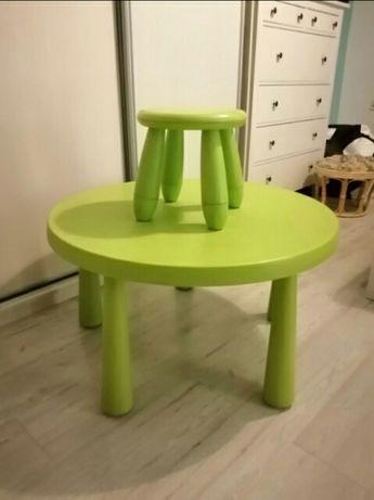 Stolik ikea plus krzeselko