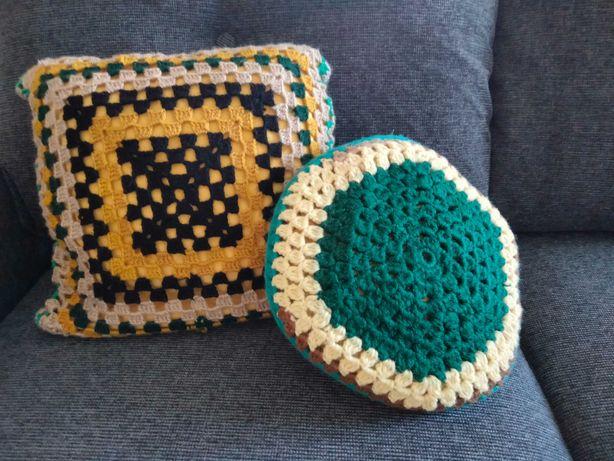 Almofadas decorativas -Tipo Granny Squares