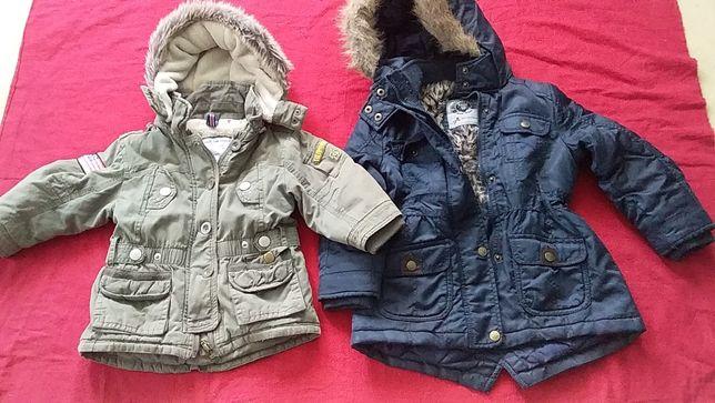 Куртка-парка для девочки на меху-Prenatal-86; Palomino-92