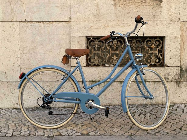 Bicicleta Capri Valentina Azul Celeste