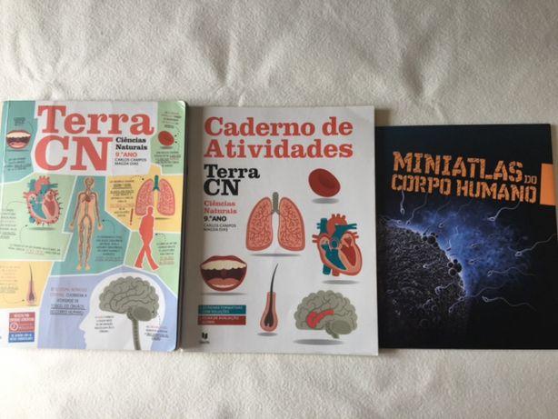 Livros de ciências naturais 9 ano Texto Editora Carlos Campos e Magda