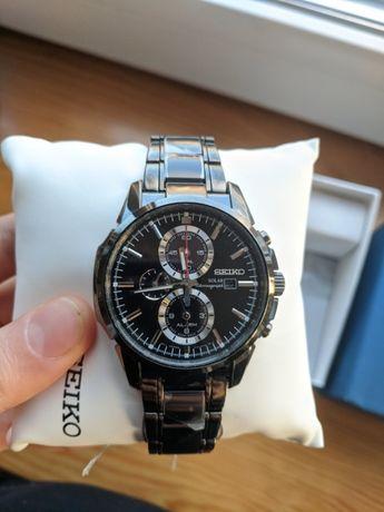 Мужские часы seiko ssc095 solar chronograph