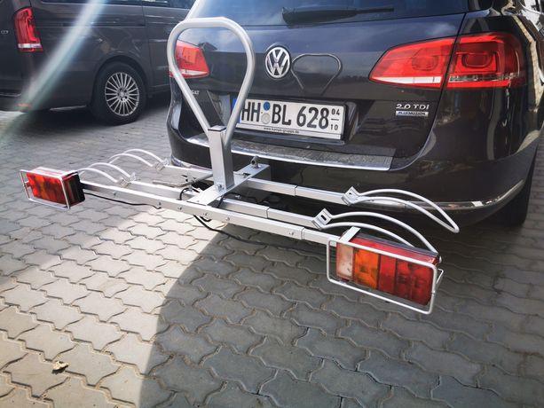 Bagażnik na rowery zaczepainy na hak samochodowy z Niemiec