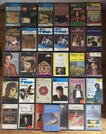 Cassetes Áudio Originais Musica Variada Anos 80