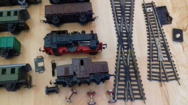 Srzedam zlom kolejowy wagoniki zwrotnice tory