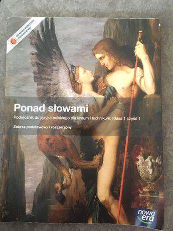 Ponad słowami podręcznik do polskiego