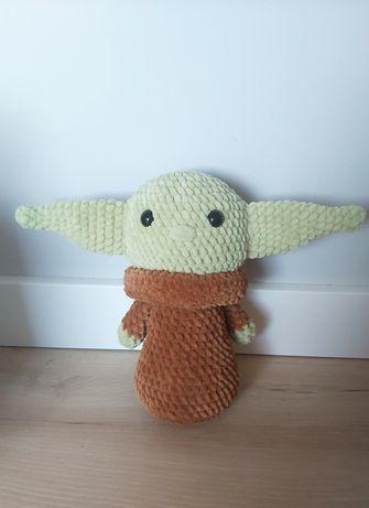 Promocja! Baby yoda handmade 26 cm pluszak