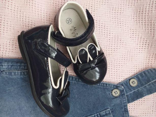 Туфли босоножки закрытые кожаные