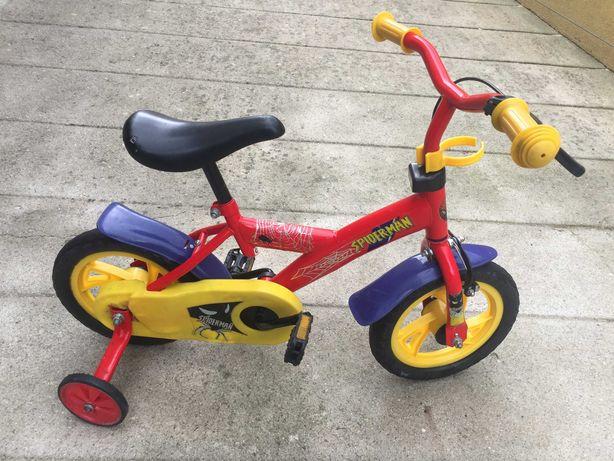 Bicicleta Spider-Man Criança