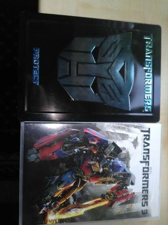 Transformers 1 stellbook 2xdvd i Transformers 3 1xdvd